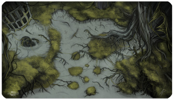 Фотография Игровое поле Blackfire Playmat - Battleground Edition Swamp - Ultrafine [=city]