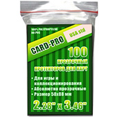 Фотография Протекторы Card-Pro Perfect Fit USA std 58х88 мм (100 шт.) [=city]